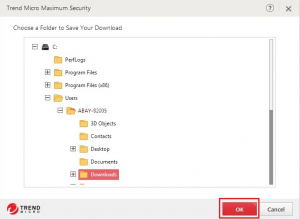 Trend Micro Maximum Security on another device 00