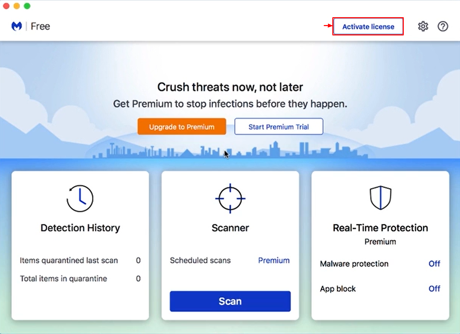 Install and Activate Malwarebytes for Mac v4 - Activate