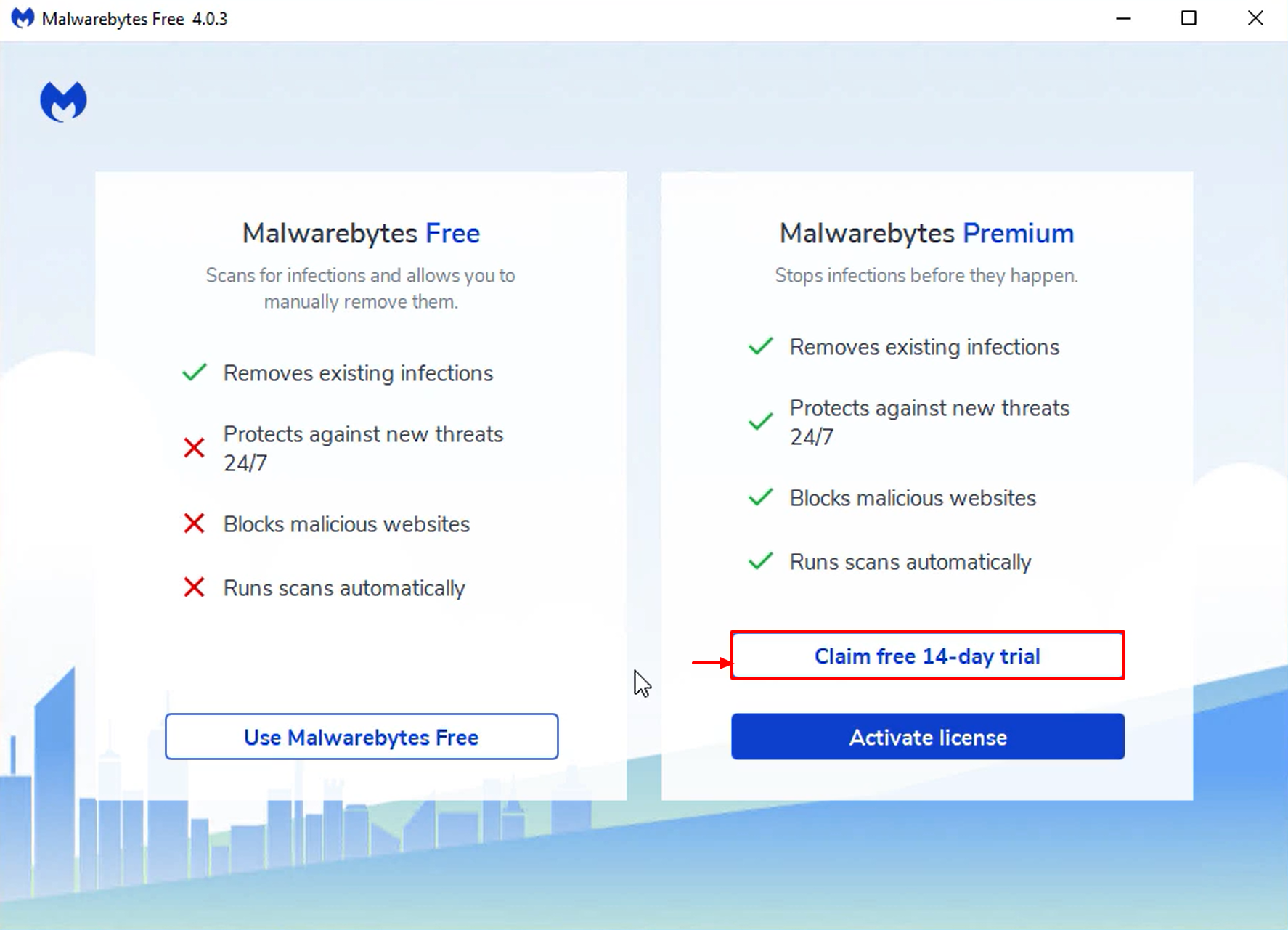 Install and Activate Malwarebytes for Windows v4 - free