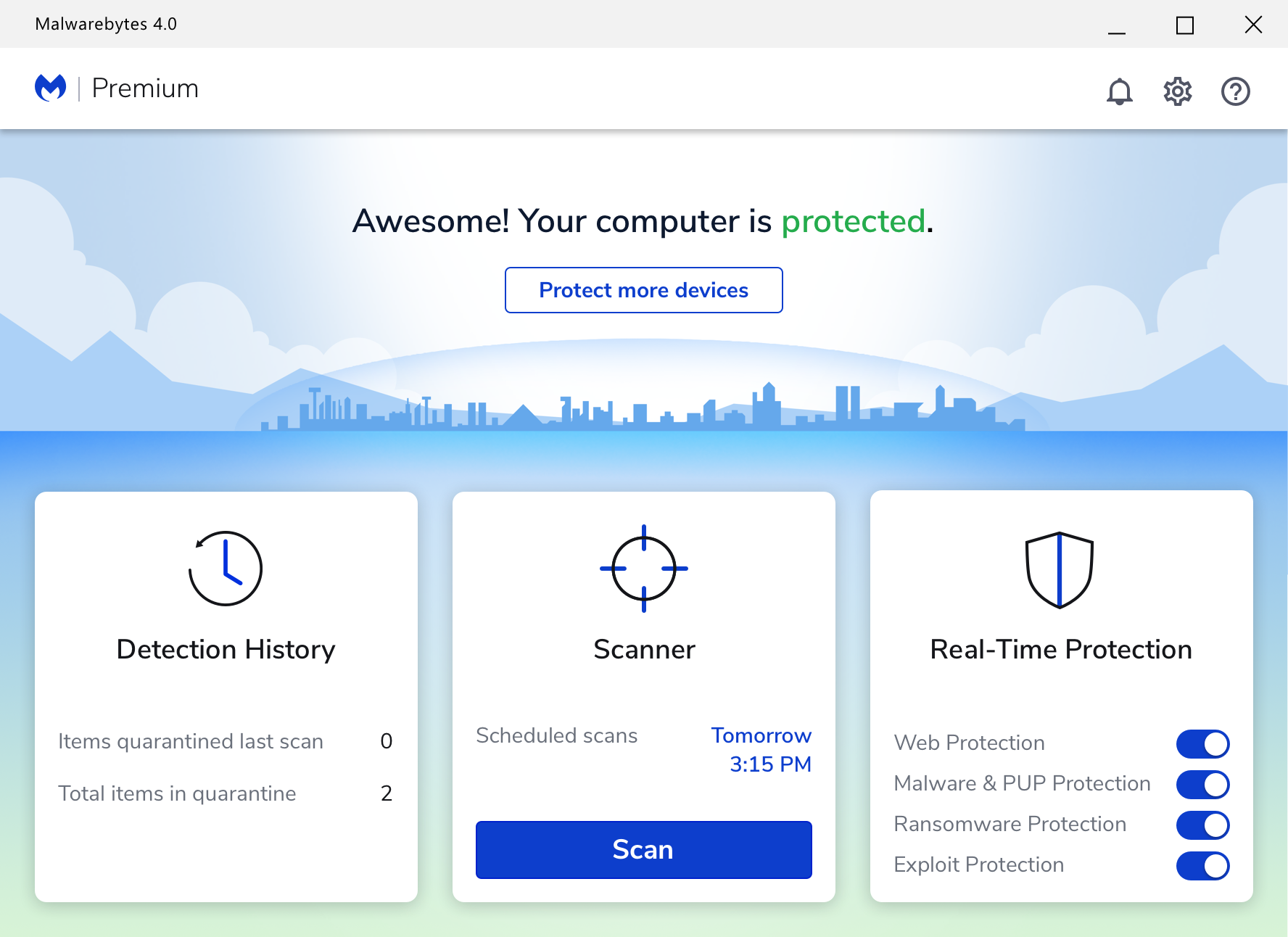 Malwarebytes Premium Security 1