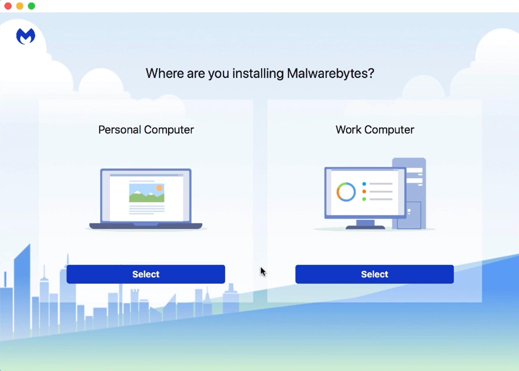 Install and Activate Malwarebytes for Windows v4 - start