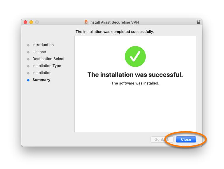 Avast SecureLine VPN - Mac - 10