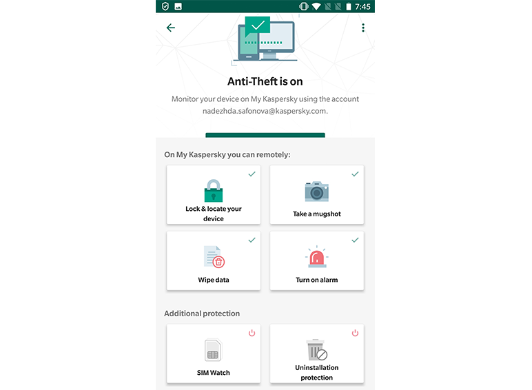 Kaspersky Internet Security for Android - 04
