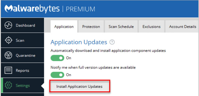 latest version of Malwarebytes for Windows -1