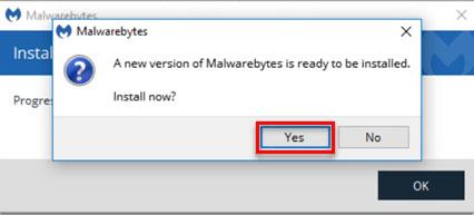 latest version of Malwarebytes for Windows - 4
