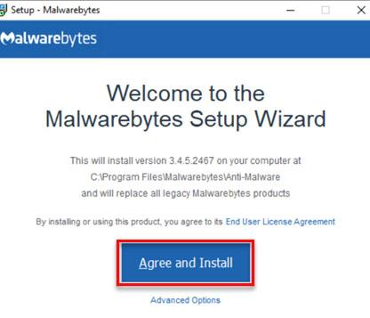 latest version of Malwarebytes for Windows - 7