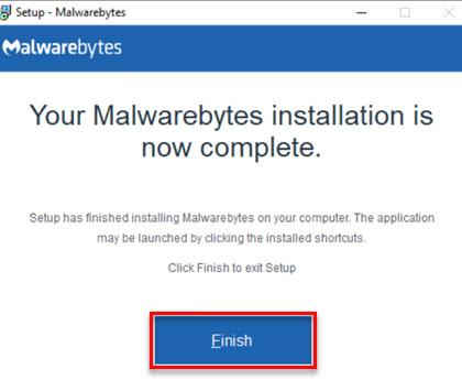 latest version of Malwarebytes for Windows - 8
