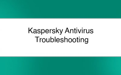 Kaspersky Antivirus Common issues